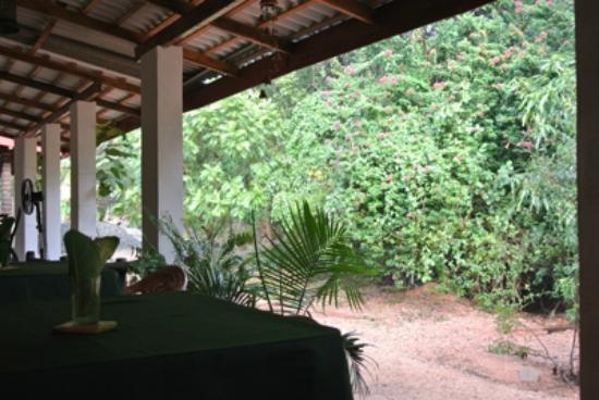 Sundaras Restaurant: テラス席から外観