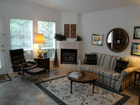 Ridgeview Gardens Bed and Breakfast: Livingroom of the suite