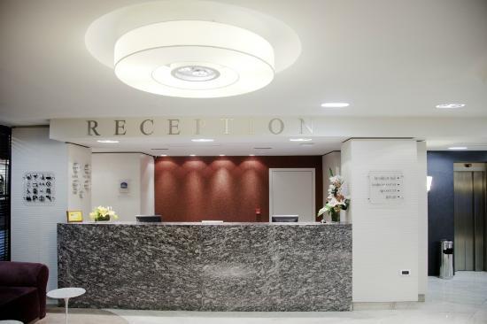 Thracia Hotel: Reception area
