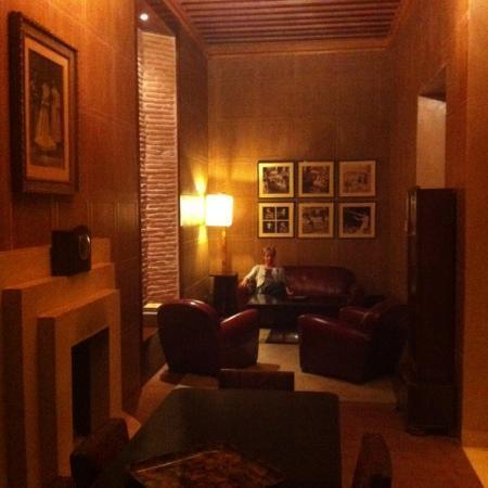 Villa Makassar: relaxing after dinner