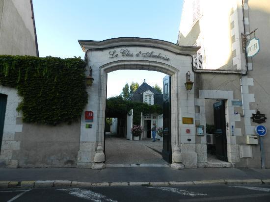 Hotel le Clos d'Amboise: Upon arrival