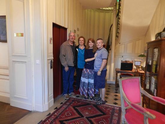 """Hotel le Clos d'Amboise: The """"lobby"""""""