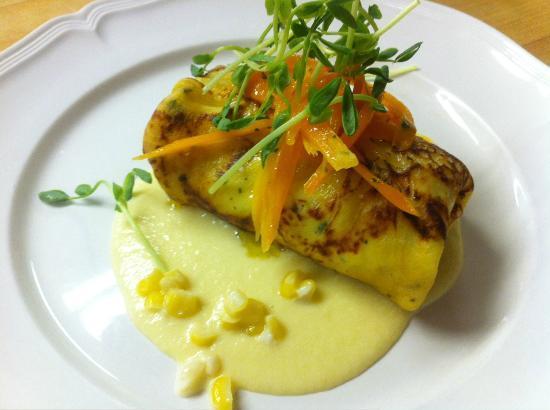 Blue Hill Inn Restaurant: Lobster Crepe