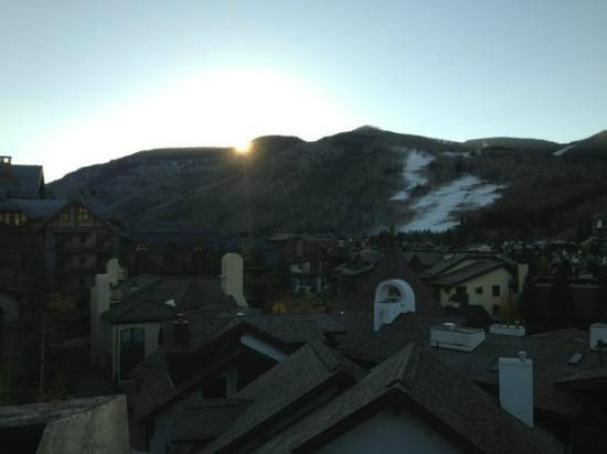 The Sebastian - Vail: Sunrise from our balcony in October 2012