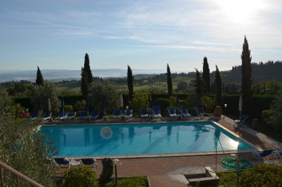 Il Casale del Cotone: The outdoor pool