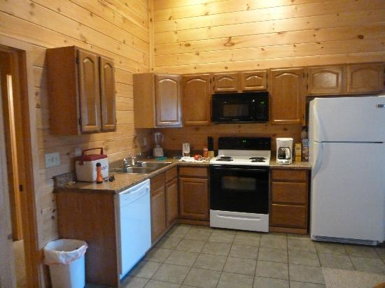 Stetson's on the White: Kitchen in Cabin