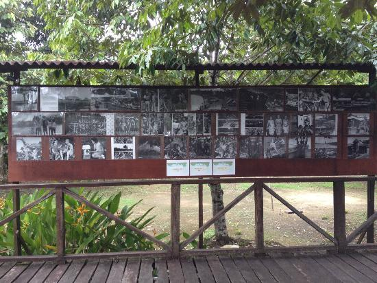 Bilit Rainforest Lodge: The photo of Sandakan's history