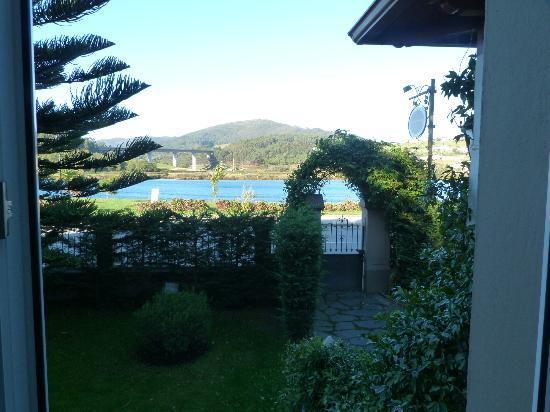 Hotel Casona Naviega: Desde la ventana