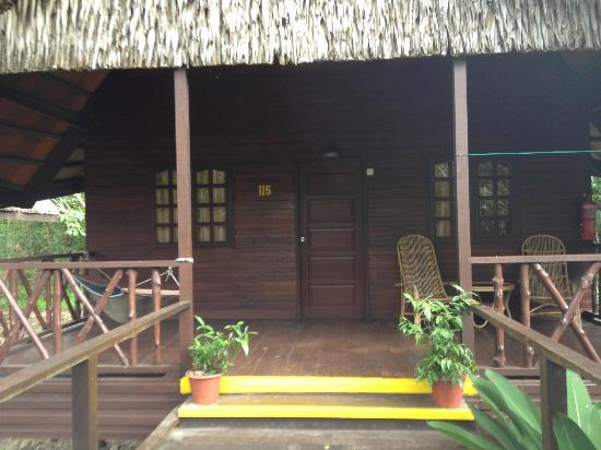 Bilit Rainforest Lodge: Our lodge