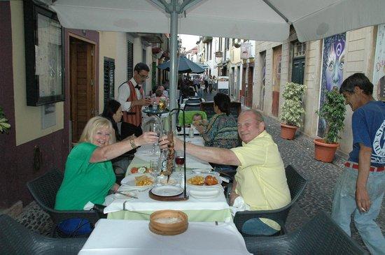 O Regional Restaurante: Gina & Glenn, married 35 years today.