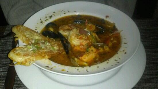 Dockside Grill: bouillabaisse - wonderful!!!