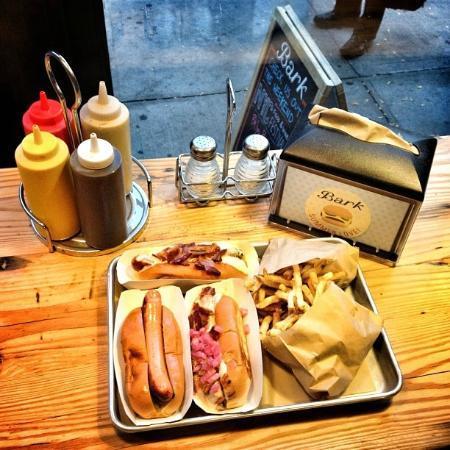 Bark Hot Dogs Brooklyn New York