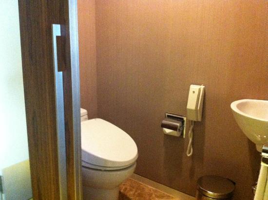 Hotel Royal-Nikko Taipei: toilet