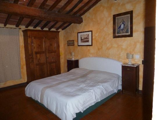 La Bandita Hotel Siena: la camera da letto