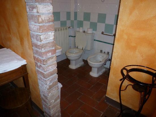 La Bandita Hotel Siena: il bagno