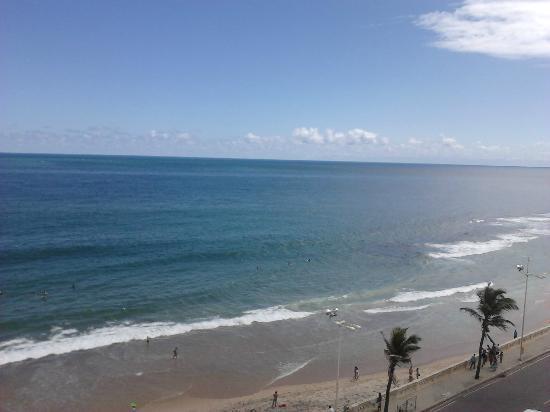Monte Pascoal Praia Hotel Salvador: Vista da varanda