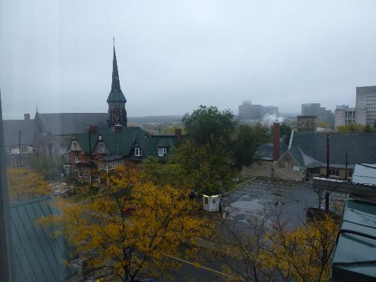 Radisson Hotel Ottawa Parliament Hill: View from the room
