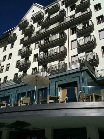 Carlton Hotel St. Moritz: Aussenansicht