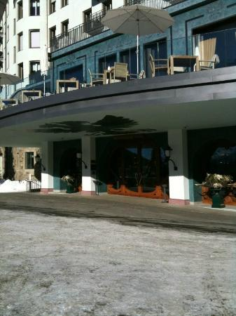 Carlton Hotel St. Moritz: Eingang