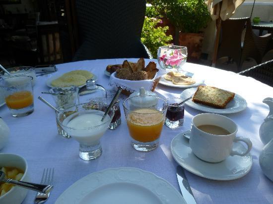 Riad Idra: breakfast