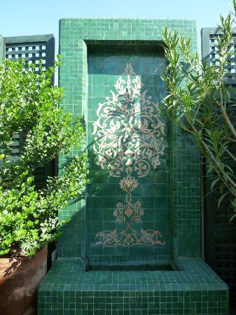 Riad Idra: terrace