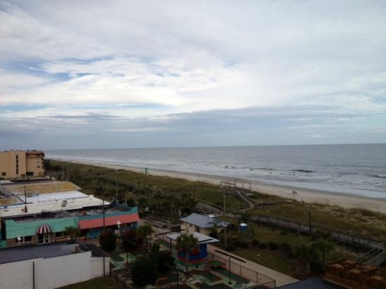 Courtyard Carolina Beach Oceanfront: View from our room