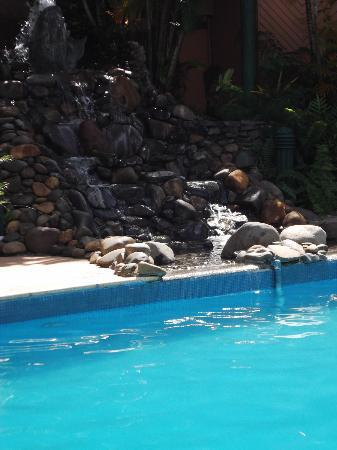 Tanoa International Hotel: Cool Pool with Waterfall feature