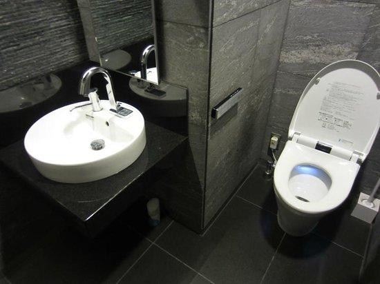 Viainn Higashi Ginza: ロビー階のトイレは高級