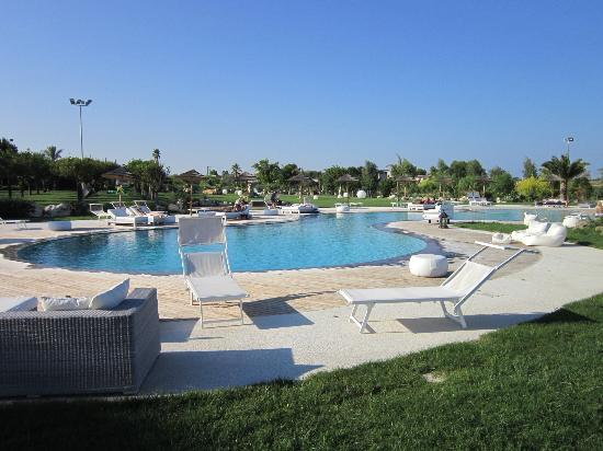 Hotel Borgo Pantano: View of the pool area