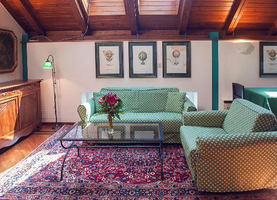 Residence Jecna: Livingroom