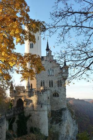 Lichtenstein, Alemania: Schloss oben
