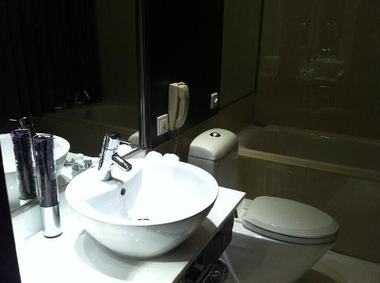 Grand Trustel Purple Mountain Hotel: bath