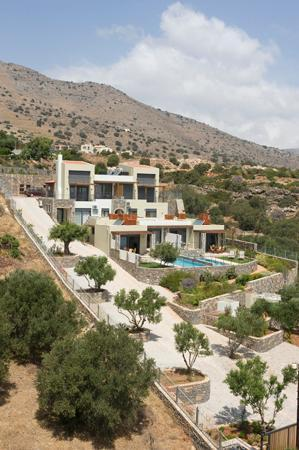 Elounda Olea Villas And Apartments: olea complex view