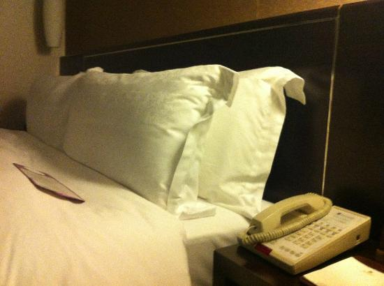 Grand Trustel Purple Mountain Hotel: bed/pillows