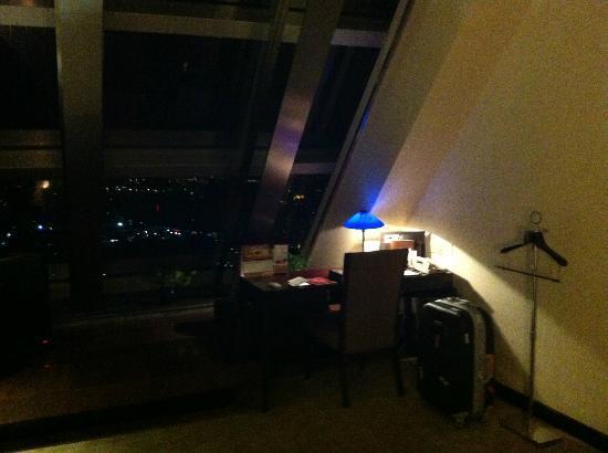 Grand Trustel Purple Mountain Hotel : ceiling window