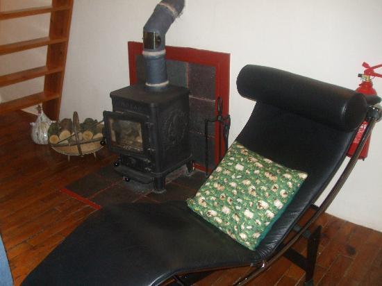 Brynheulog B&B: sitting room