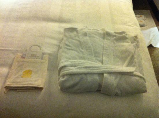 Grand Trustel Purple Mountain Hotel : bed