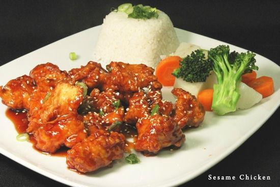Akira Sushi Bar: Sesame Chicken