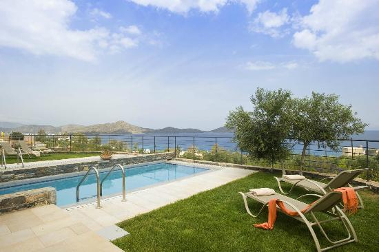 Elounda Olea Villas And Apartments: Villa Oino swimming pool