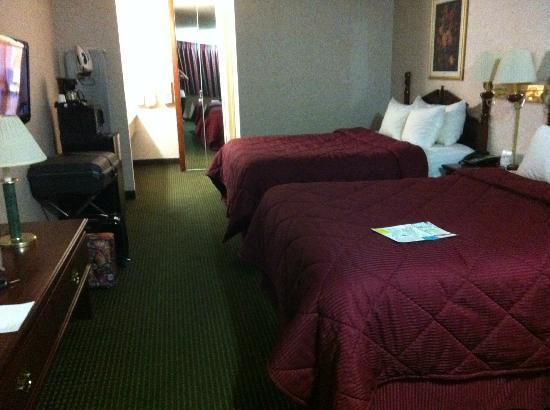 Comfort Inn Yosemite Area: Prima, ruime en schone kamer.