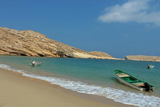 Muscat, Umman: Qantab beach - October 2012