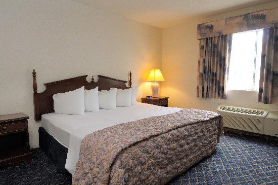 Regency Inn and Suites West Springfield: King Standard