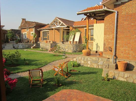 Couleur Cafe: jardin interieur