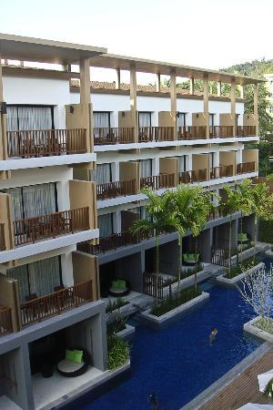 Deevana Plaza Krabi Aonang: View from my 4th Floor room