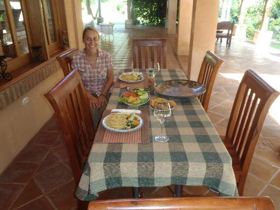 La Villa de Soledad B&B: Great home made lunch