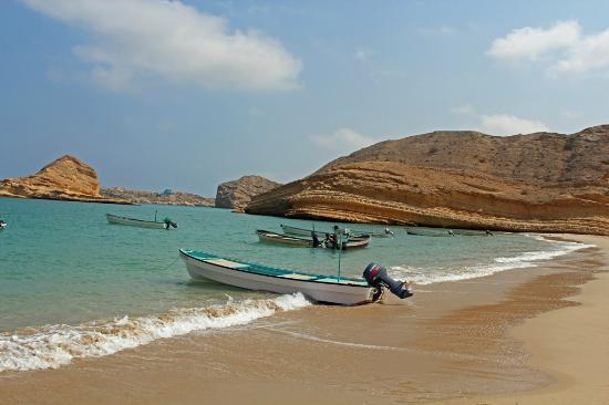Muscat, Oman: Qantab Beach - October 2012