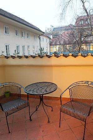 Residence Tynska: Balcony