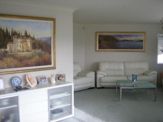 Seascape Villa B&B: Wohnbereich
