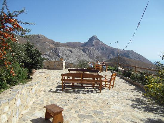 Thalori Traditional Village: Lovely area to sit and take in the views