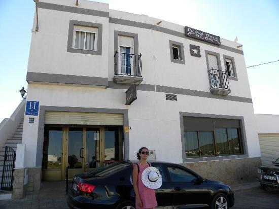 Hostal Rural Alba: Fuori